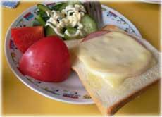 2009年9月21日の朝食
