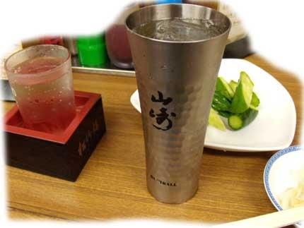 私的忘年会の時の飲み物